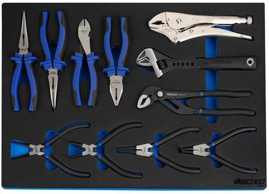Työkaluvaunu 7071A + 330 työkalua, Boxo
