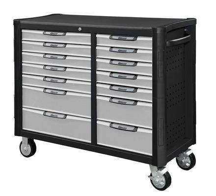 Työkaluvaunu, 14 laatikkoa, Boxo - Työkaluvaunu, 14 laatikkoa