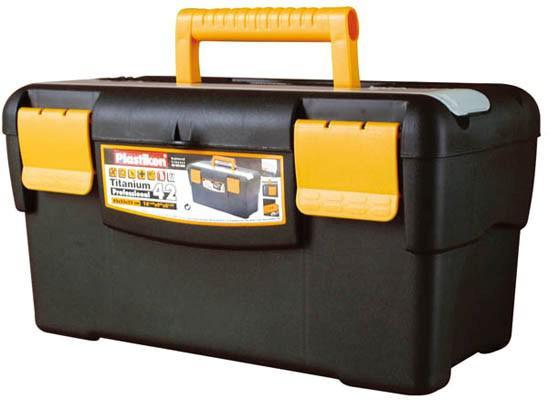 Muovinen työkalupakki 42x23x22 cm, Plastiken - Muovinen työkalupakki 42x23x22 cm