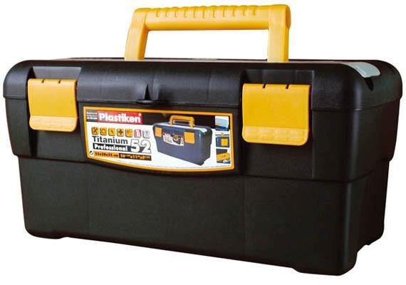 Muovinen työkalupakki 52x28x25 cm, Plastiken - Muovinen työkalupakki 52x28x25 cm