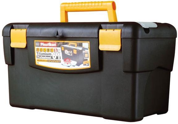 Muovinen työkalupakki 61x33x32 cm, Plastiken - Muovinen työkalupakki 61x33x32 cm