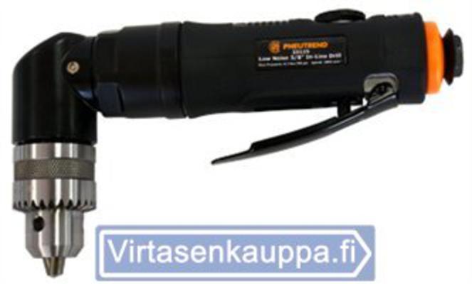 Paineilmakäyttöinen kulmaporakone 10 mm Low-Noise, Pneutrend - Kulmaporakone