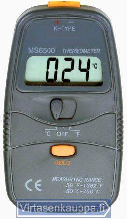 Digitaalinen lämpömittari -50-750°C, King - Digitaalinen lämpömittari