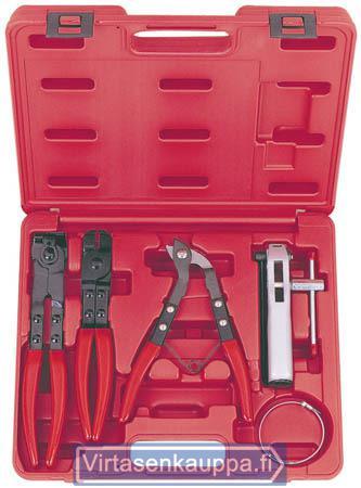 Vetonivelen suojakumityökalusarja, King Pro Tools