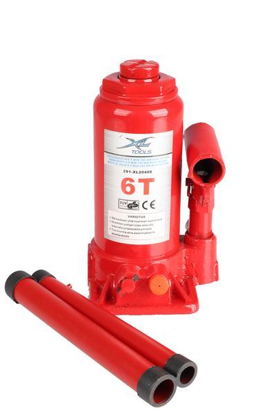 Hydraulinen pullonostin 6 t, XL Tools