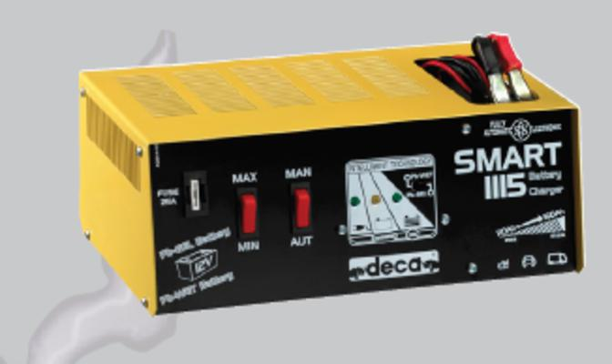 Automaattinen akkuvaraaja Smart 1115, Deca - Automaattinen akkuvaraaja