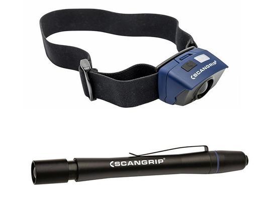 Valaisinpaketti (otsalamppu sekä kynävalo), Scangrip - Valaisinpaketti (otsalamppu sekä kynävalo)