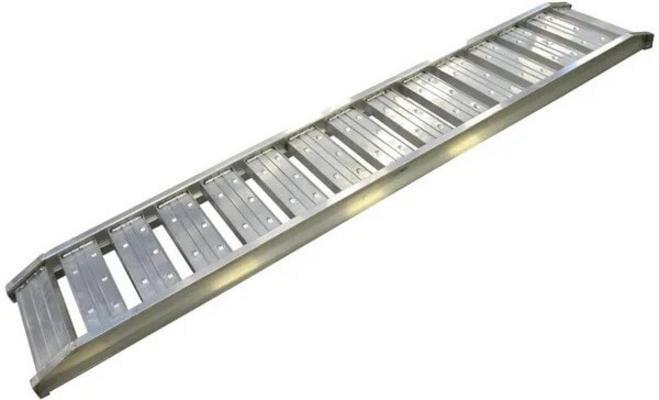 Alumiininen ajosiltapari, max 1800 kg / 250 cm