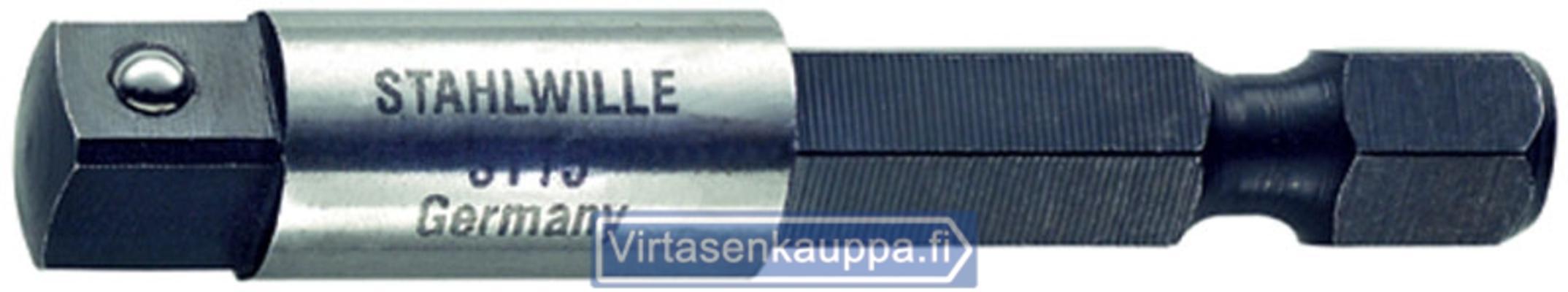 """Sovituskappale 1/4""""x50 mm, Stahlwille - Sovituskappale 1/4"""