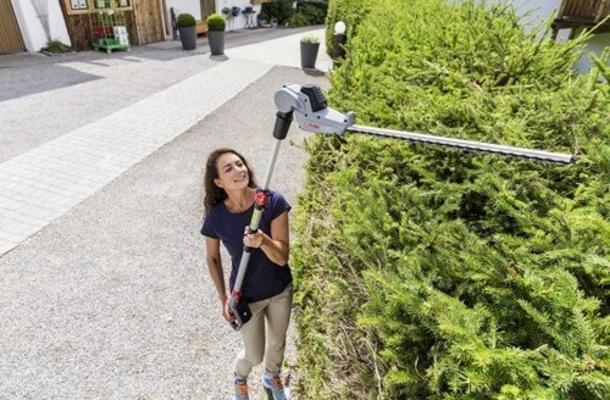Akkukäyttöinen pensasleikkuri varrella HTA 2050 Easyflex, AL-KO