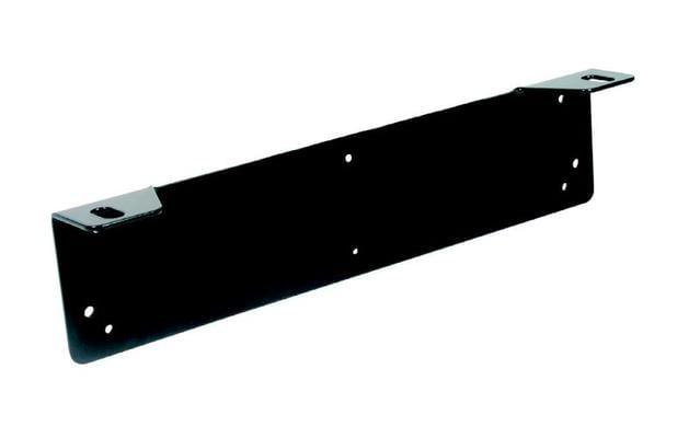 Lisävaloteline rekisterikilven alle, K27 - Lisävaloteline, musta