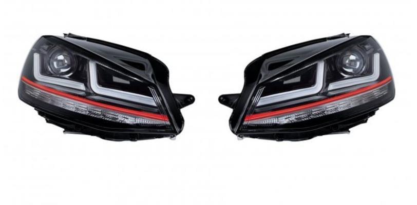 Led-ajovalot LEDriving (Volkswagen Golf VII), Osram - Led-ajovalo, halogeeniumpion tilalle (GTI Edition)