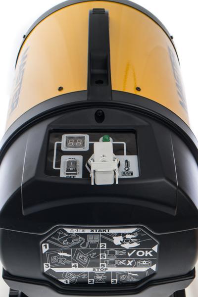 Öljykäyttöinen infrapunalämmitin XL 61 17 kW, Master - Infrapunalämmitin Master XL 61