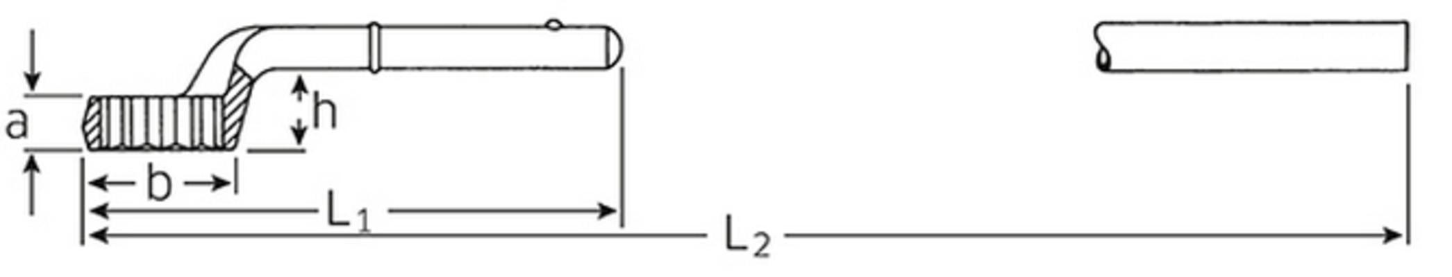 Vetosilmukka-avain, Stahlwille - Vetosilmukka-avain 24 mm