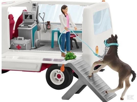 Eläinlääkäri autoineen ja varsa, Schleich - Eläinlääkäri autoineen ja varsa