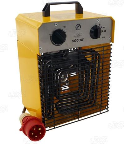 Sähkölämmitin 5 kW / 400 V, Lexxa - Sähkölämmitin 5 kW / 400 V