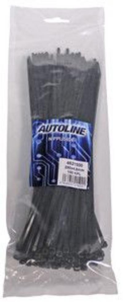 Nippuside, 290x4.8 mm, 100 kpl, Autoline