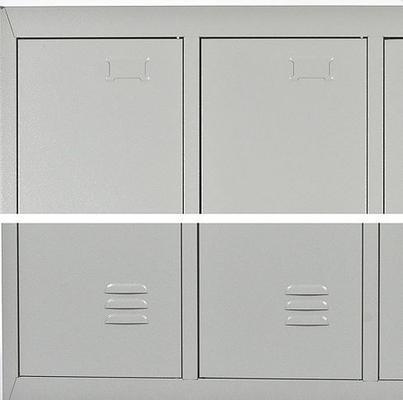 3-ovinen peltikaappi / vaatekaappi (1820 x 900 x 500 mm) - 3-ovinen peltikaappi (1820 x 900 x 500 mm)