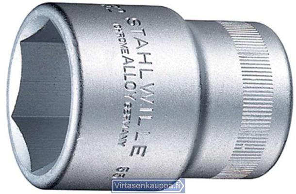 "Hylsyavain 3/4"", Stahlwille 55 - Avainväli 19 mm, pituus 50 mm"