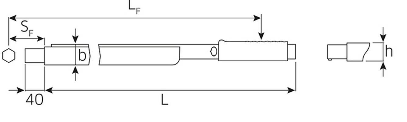 Momenttiavain (160-800 Nm), Stahlwille - Momenttiavain, Stahlwille 730/80