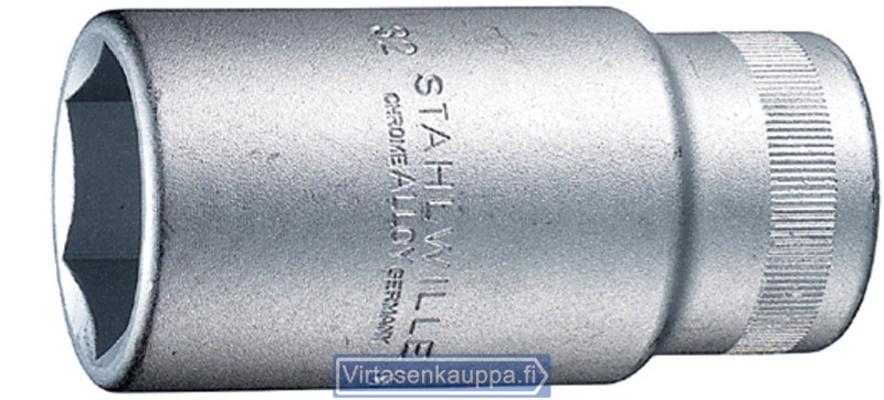"""Hylsyavain 3/4"""" (pitkä),  Stahlwille 56 - Avainväli 22 mm, pituus 90 mm"""