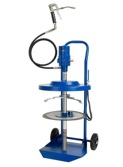 Paineilmakäyttöinen rasvauslaite (20 kg astialle), Pressol - Paineilmakäyttöinen tynnyripumppu