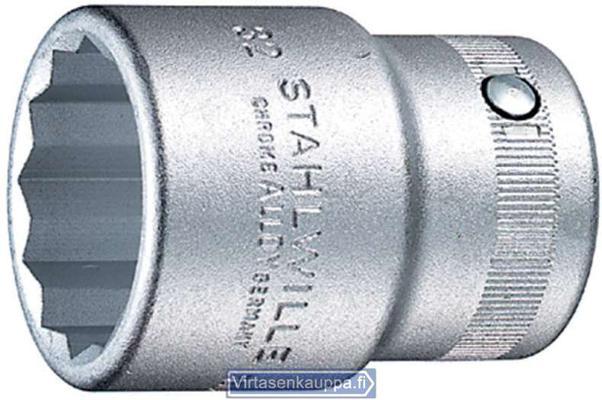 "Hylsyavain 3/4"", Stahlwille 55a - Avainväli 3/4"", pituus 50 mm"