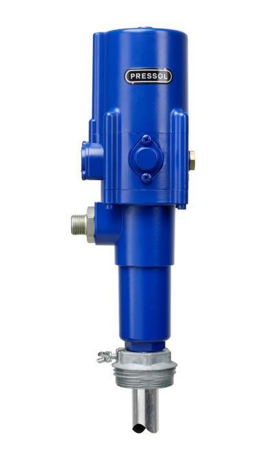 Paineilmakäyttöinen rasvapumppu 200 l tynnyrille, Pressol - Paineilmakäyttöinen tynnyripumppu