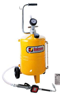 Öljynjakelulaite 24 l mittarilla - Italcom - Öljynjakelulaite 24 l mittarilla