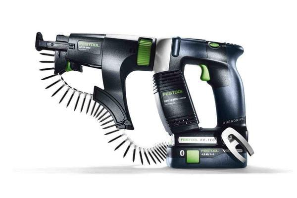 Rakentajan akkuruuvinväännin Duradrive DWC 18-4500 Basic, Festool