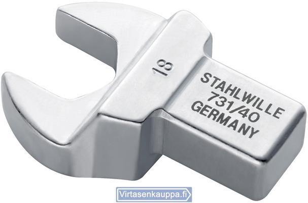 Kiintoavaimen vaihtopää momenttiavaimeen 14x18mm 13 mm Stahlwille