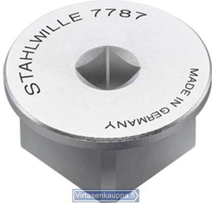 """Vääntiön sovitin (1/4"""" sisä 3/4"""" ulko), Stahlwille 7787 - Vääntiön sovitin"""