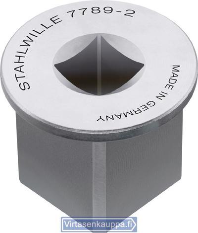 """Muuntokappale 3/4"""">1, Stahlwille (7789-2) - Muuntokappale 3/4"""">1"""