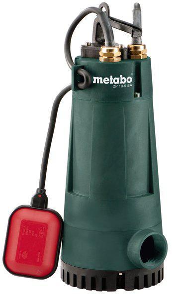 Uppopumppu likaiselle vedelle, 900 W, Metabo - Tyhjennyspumppu, Metabo DP 18-5 SA