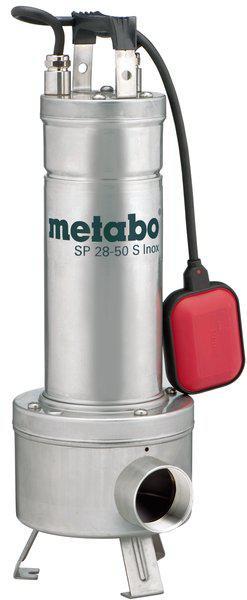 Uppopumppu likavedelle, 1470 W (Inox) - Metabo - Jätevesipumppu, Metabo SP 28-50 S Inox
