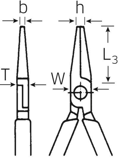 Asennuspihti 140 mm, Stahlwille - Asennuspihti 140 mm