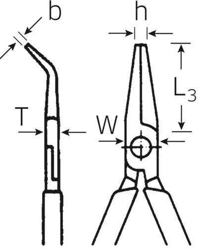 Asennuspihdit 140 mm, Stahlwille - Asennuspihdit 140 mm