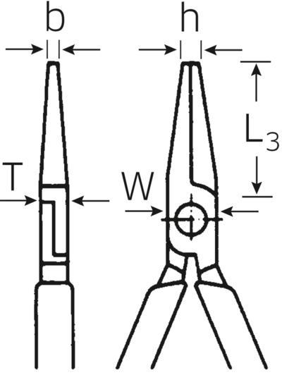 Radiopihti 160 mm, Stahlwille - Radiopihti 160 mm
