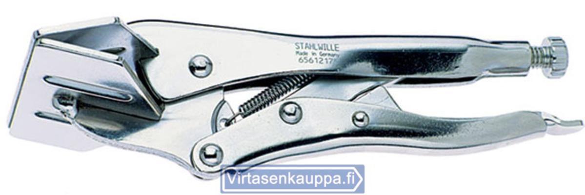 Lukkopihti (leveäleuka-), 175x20 mm, Stahlwille - Lukkopihdit (leveäleuka-), 175x20 mm