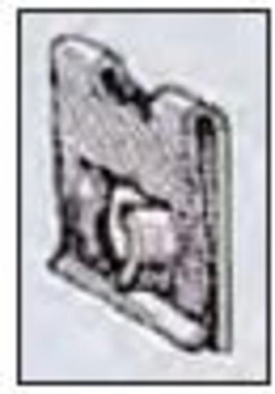 Peltimutterisarja 2,8 mm - 6,35 mm, Restagraf - Peltimutterisarja