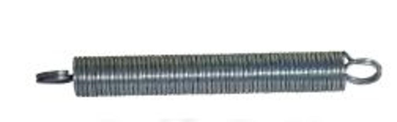 Vetojousi 1 mm x 8 mm x 55 mm 10/kpl - Vetojousi 1 mm x 8 mm x 55 mm