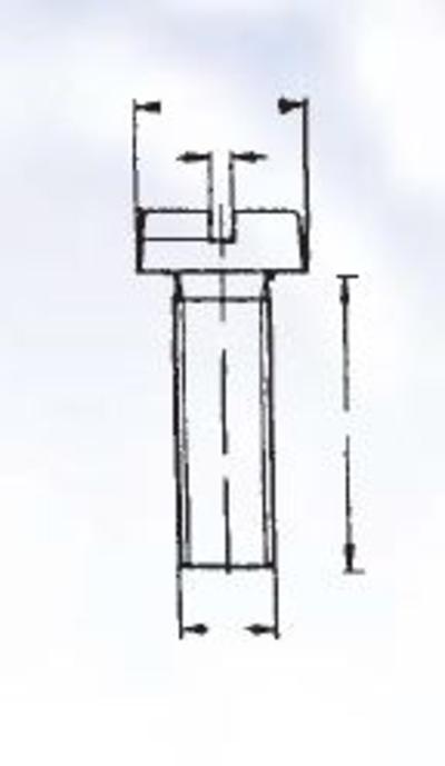 Uraruuvilajitelma DIN 84, sinkitty, Förch - Uraruuvilajitelma DIN 84, sinkitty