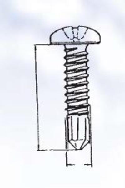 Poraruuvilajitelma DIN 7504-N, sinkitty, Förch - Poraruuvilajitelma DIN 7504-N, sinkitty