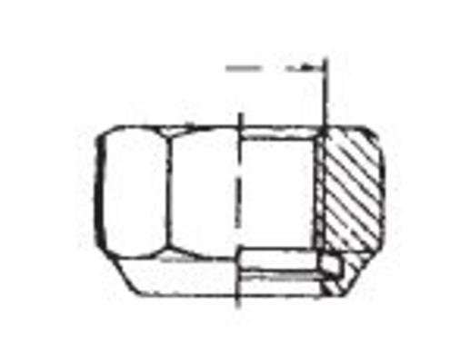 Lukitusmutterilajitelma DIN985-10, sinkitty, Förch - Lukitusmutterilajitelma DIN985-10, sinkitty