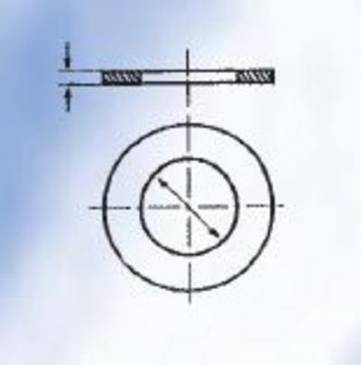 Aluslaattalajitelma DIN 125, sinkitty, Förch - Aluslaattalajitelma DIN 125, sinkitty