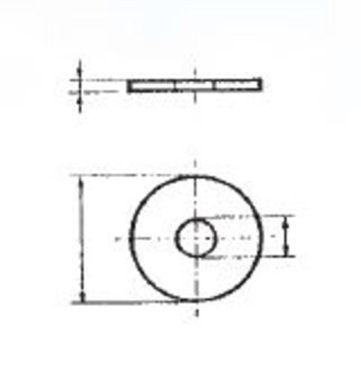 Korilaattalajitelma DIN 9021, sinkitty, Förch - Korilaattalajitelma DIN 9021, sinkitty