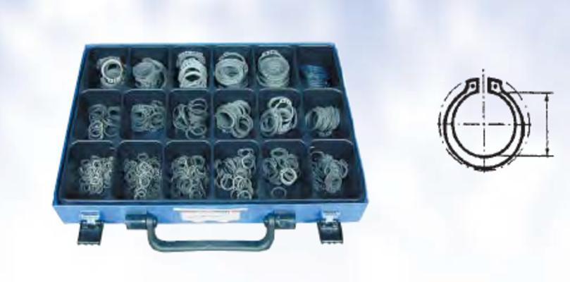 Lukkorengaslajitelma: ulkopuoliset lukkorenkaat  DIN471, Förch - Lukkorengaslajitelma: ulkopuoliset lukkorenkaat