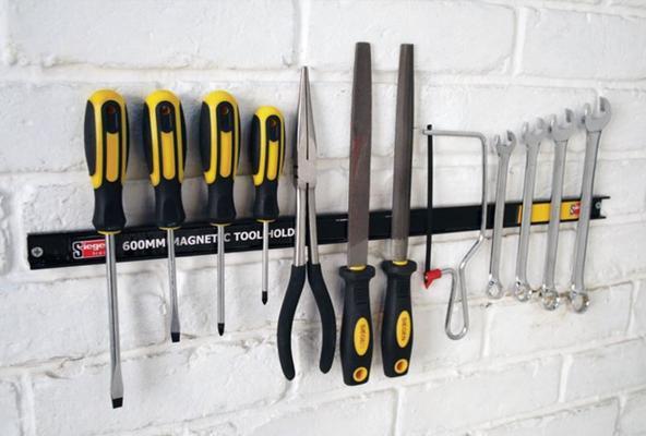 Magneettinen työkalupidike, Sealey - Työkalupidike, pituus 45 cm