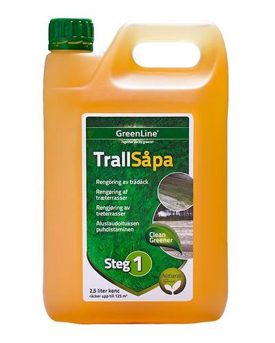 Terassin puhdistusaine 2,5 l, Greenline - Terassin puhdistusaine 2,5 l