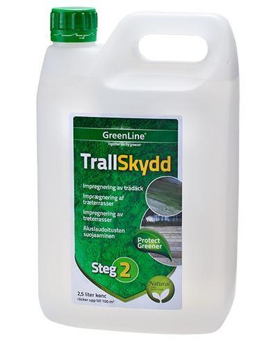 Terassin suoja-aine 2,5 l, Greenline - Terassin suoja-aine 2,5 l